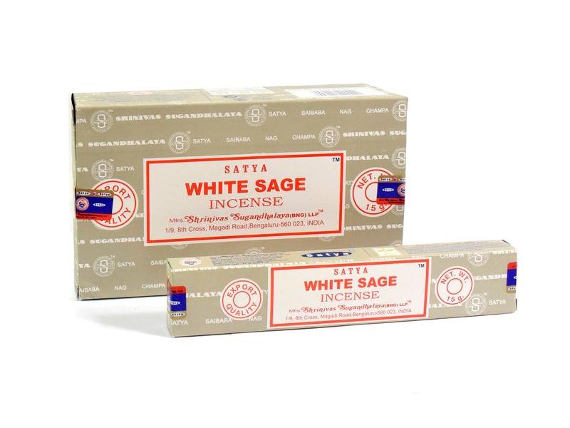Satya  - White Sage (Bílá šalvěj), 15g