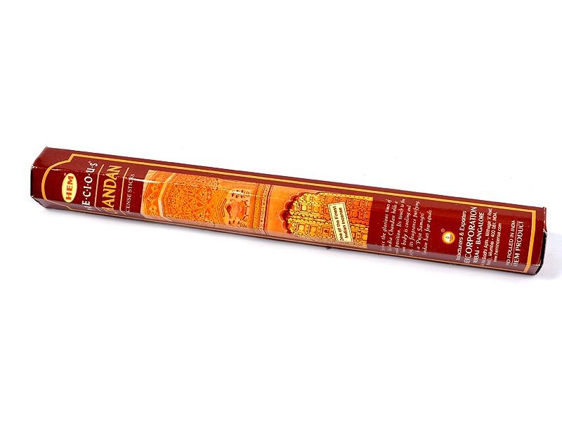 Vonné tyčinky, HEM Precious Chandan, hexa