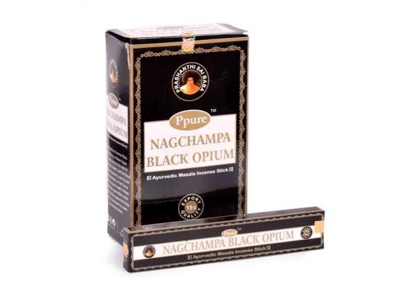 Vonné tyčinky, Black Opium, Ppure, 22cm, 15g