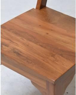 Jídelní židle z teakového dřeva, 45x54x107cm