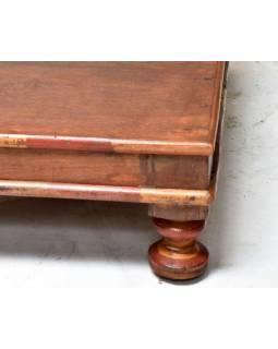 Čajový stolek z teakového dřeva, 58x58x19cm