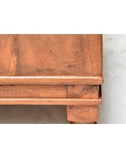 Čajový stolek z teakového dřeva, 57x57x20cm