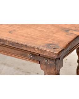 Čajový stolek z teakového dřeva, 91x24x17cm