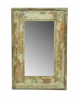 Zrcadlo v rámu, starý teak, 34x3x49cm