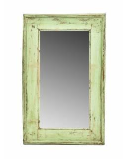 Zrcadlo v rámu, starý teak, 32x3x52cm