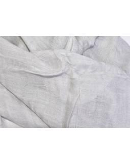 Šátek, návlek, jednobarevný, šedý, 52 x 110 cm