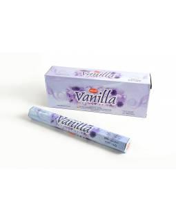 Vonné tyčinky, HEM Vanilla, hexa, 20 kusů