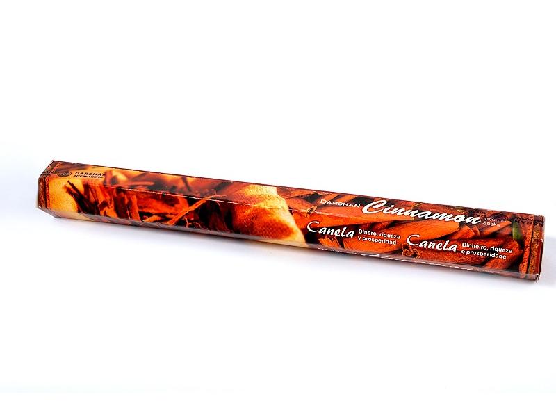 Vonné tyčinky, Cinnamon, Darshan - hexa