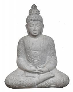 Kamenná socha, Buddha Amitábha, žula, 85cm