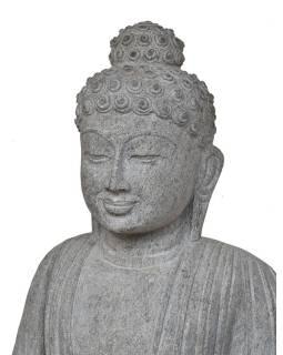 Kamenná socha, Buddha Amitábha, podstavec, žula, 110cm