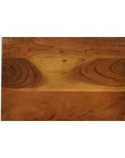 Stolička z palisandrového dřeva, 45x30x45cm
