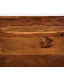 Stolička z palisandrového dřeva, 35x28x37cm