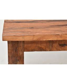 Stůl ze starých teakových fošen, 180x90x77cm