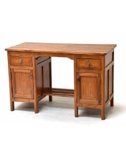 Psací stůl z teakového dřeva, 120x59x76cm