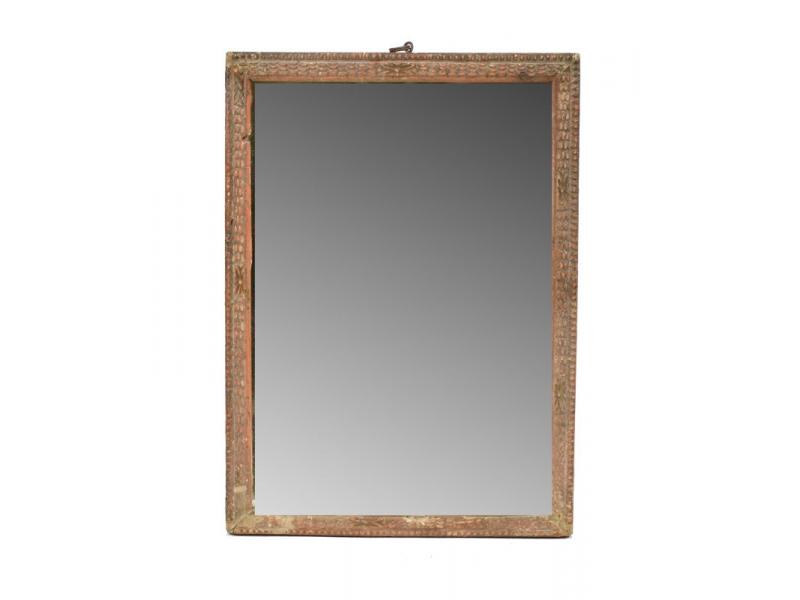 Zrcadlo ve starém rámečku, 19x26cm
