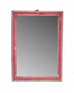 Zrcadlo ve starém rámečku, 20x27cm