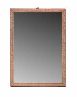 Zrcadlo ve starém rámečku, 27x38cm