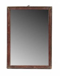 Zrcadlo ve starém rámečku, 27x36cm
