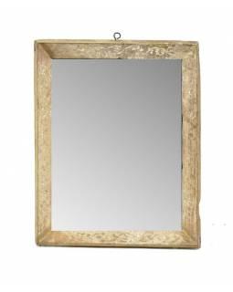Zrcadlo ve starém rámečku, 23x29cm
