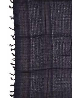 """Šátek, """"Palestina"""", modro/černý, 100x100cm"""