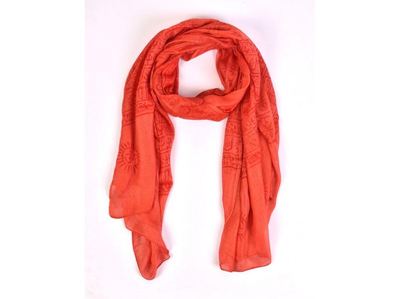 Šátek Ramnami, viskóza, 90x180cm