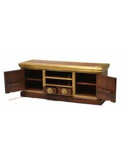 Komoda pod TV z palisandrového dřeva, 150x45x60cm