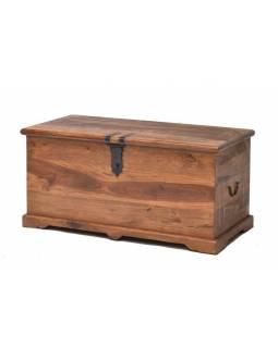 Truhla z palisandrového dřeva, 104x50x50cm