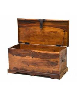 Truhla z palisandrového dřeva, 85x40x40cm