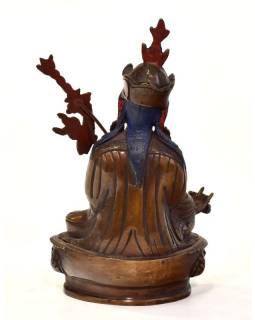 Guru Rinpoche, Padmasambhava, kovová soška, 10x7x17cm
