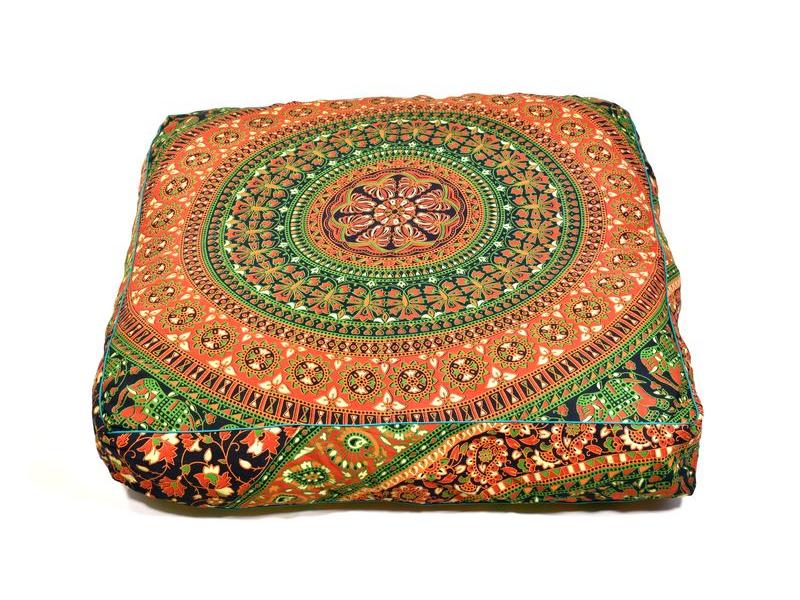 Meditační polštář, čtverec, 80x80x10cm