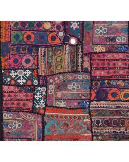 Povlak na polštář z Rajastanu, patchwork, 40x40cm