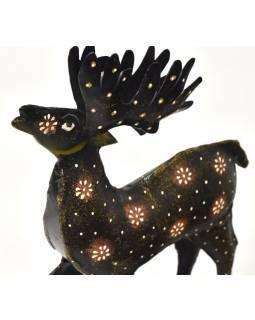 Soška jelena, ručně malovaná, 14x7x25cm