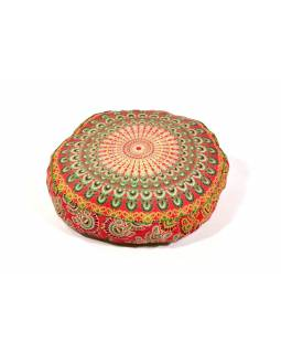 Meditační polštář, kulatý, 60x13cm