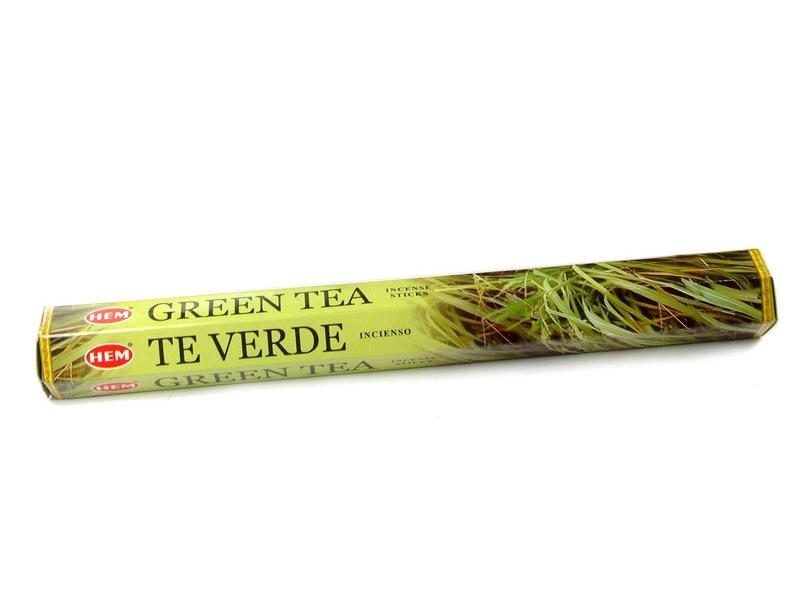 Vonné tyčinky, Green Tea, hexa