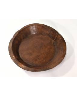Dřevěná mísa z mangového dřeva, 46x46x9cm