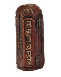 Tara, cestovní oltář, červeno hnědý, pryskyřice, 20cm