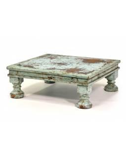 Čajový stolek z teakového dřeva, 56x42x20cm