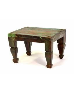 Čajový stolek z teakového dřeva, 50x42x35cm