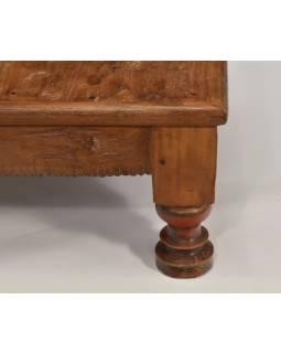 Čajový stolek z teakového dřeva, 51x51x24cm