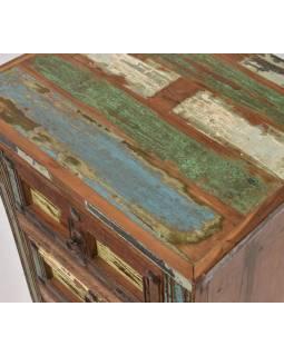 """Stolek/komoda v """"Goa"""" stylu se šuplíky, 49x40x76cm"""