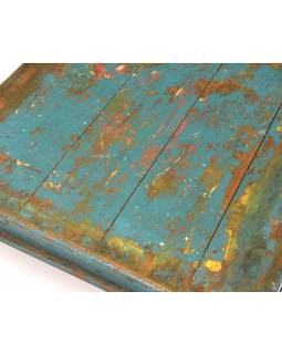 Čajový stolek z teakového dřeva, 50x50x14cm