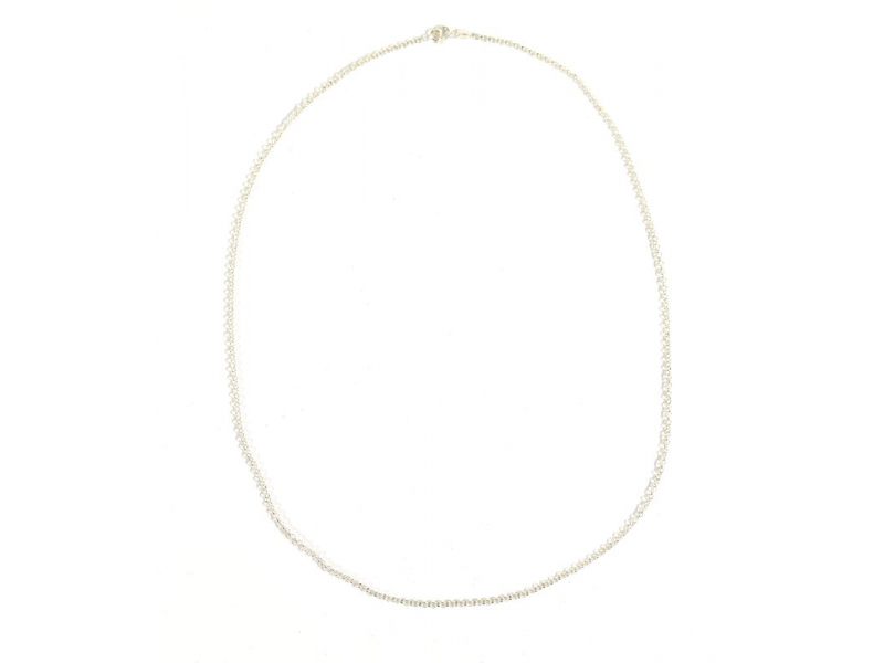 Stříbrný řetízek, karabinka, délka cca 50cm,AG 925/1000