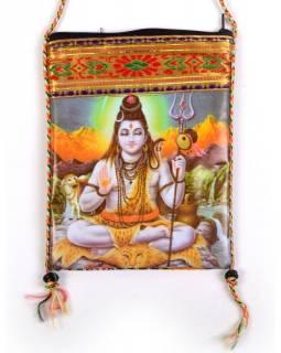 Taška na doklady - bavlna + plast - Šiva