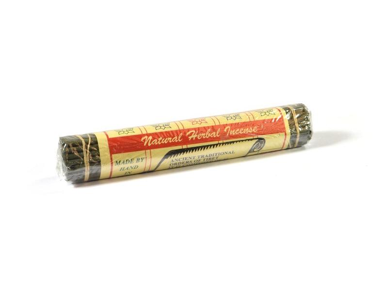 Tibetské vonné tyčinky Natural Herbal, 17cm