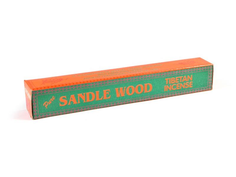 Tibetské vonné tyčinky Pure Sandle Wood, 21cm