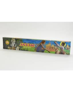Indické vonné tyčinky, Avtar, 10kusů, 30cm