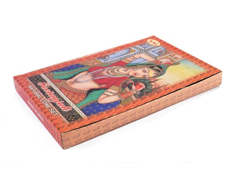 Set vonných tyčinek - Geetanjali - červené