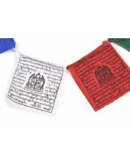Modlitební praporky, 16x17cm, 10x praporků, černý tisk