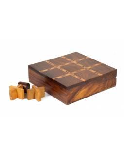 Dřevěné piškvorky na cesty, 13x13cm