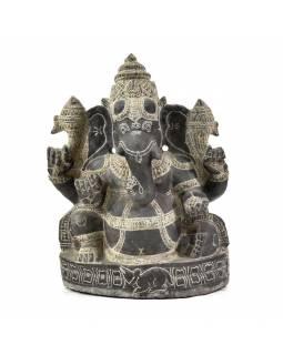 Soška Ganesha, v.cca 40cm, žula